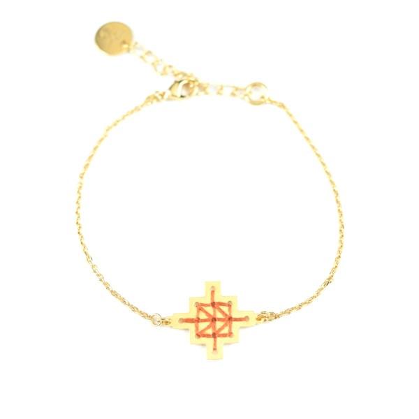 Bracelet Mouassine rouille