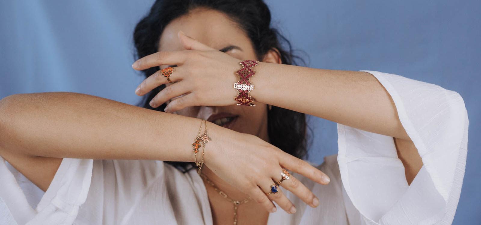 Collection été 2021 bijoux brodés OK