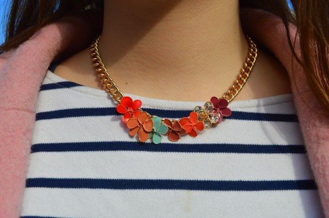 DIY collier fleurs en vernis - Nailpolish flowers
