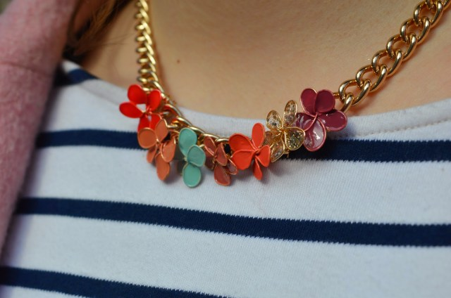 DIY collier fleurs en vernis - Nailpolish flowers