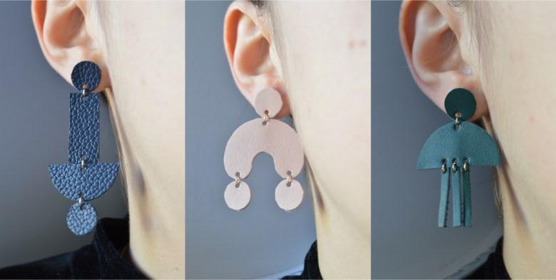 DIY - Boucles d'oreilles en cuir