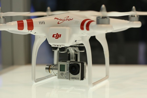 Zenmuse Hero, 2-axis GoPro Gimbal (Mounted on DJI Phantom)