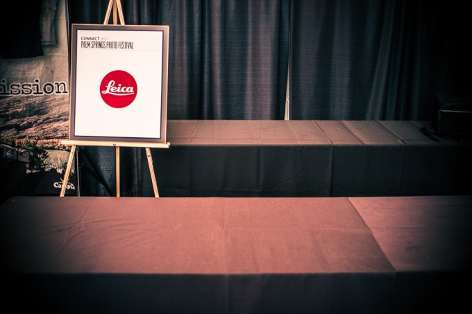 "The new Leica M 240. A ""no show"" at the Palm Springs Photo Festival 2013."