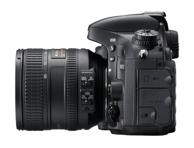 Nikon D610 24MP - Left View