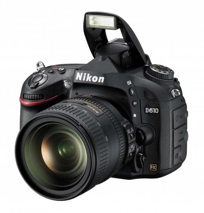 Nikon D610 24MP - Comes With Pop Up Flash