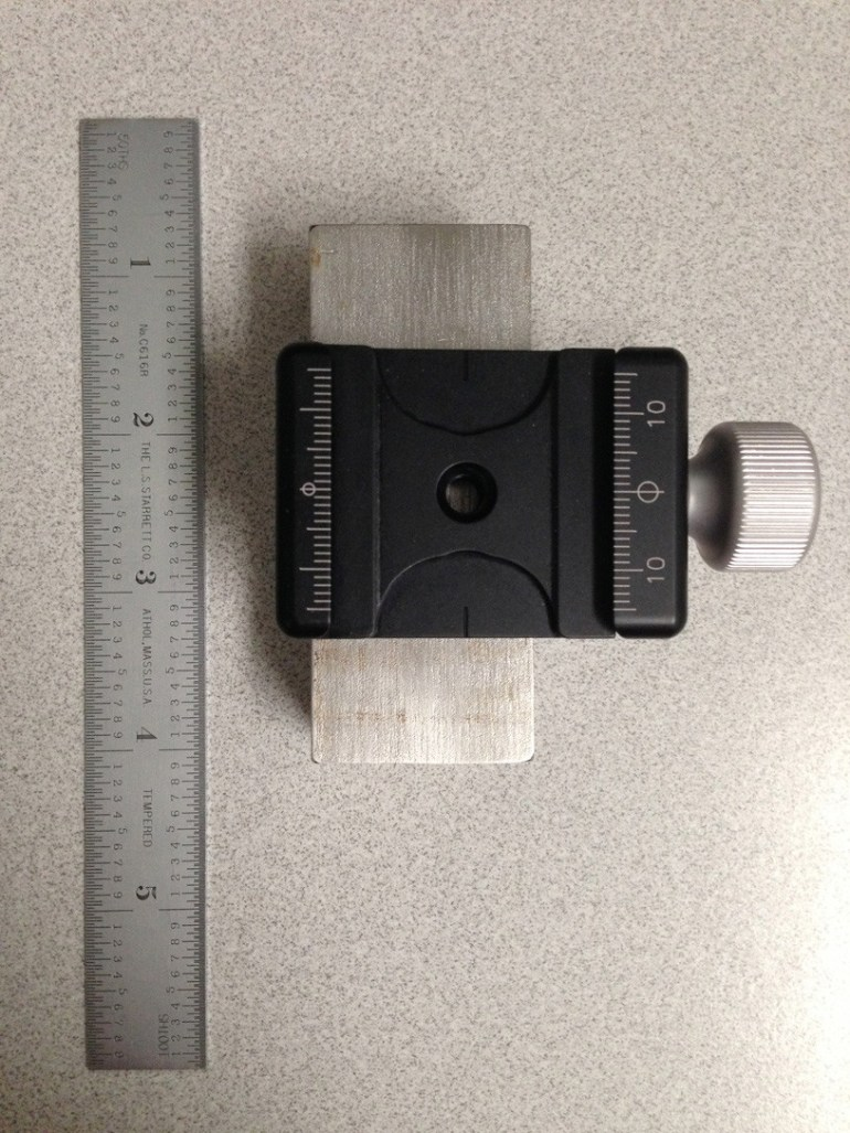 17-ounce, type 316 stainless block.