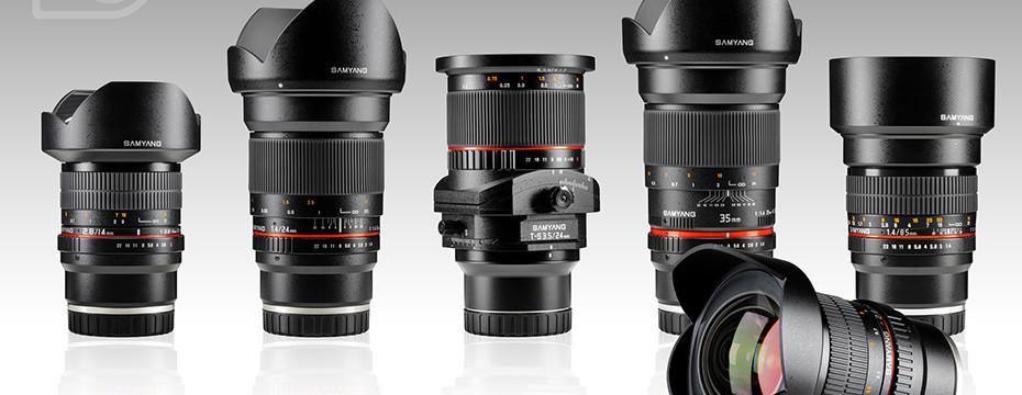Sony E Mount Rokinon Lenses