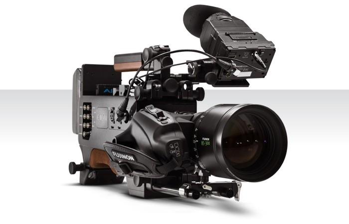 The All New AJA 4K Ultra HD Video Camera.