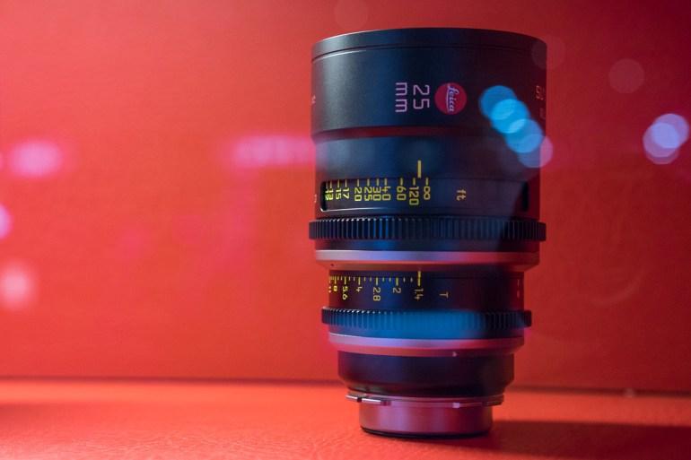 Leica Summilux-C 25mm