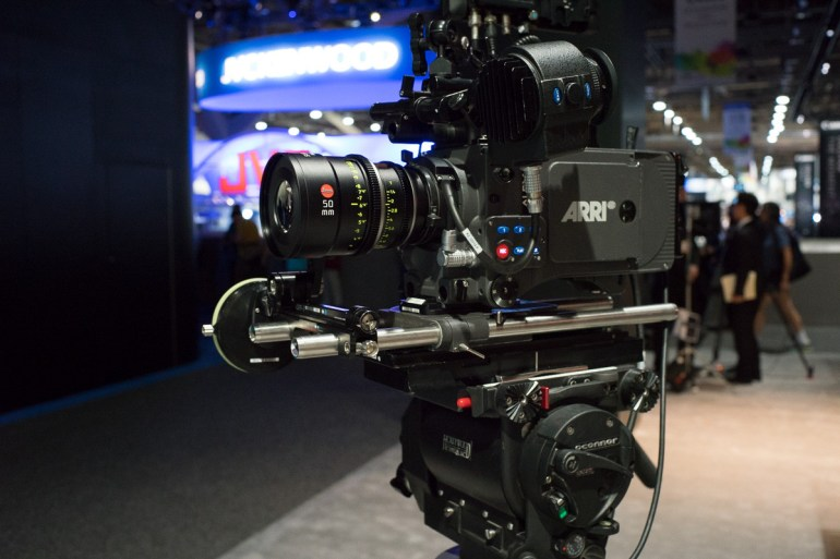 Arri Alexa Fully Equipped And Ready To Go Outfitted With A Spectacular Leica Lens