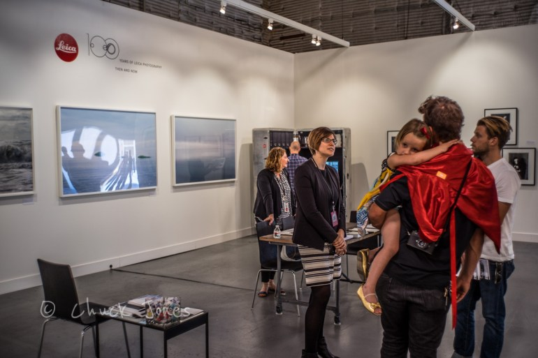 """Our exhibition at Paris Photo was inspired by our 100 Year anniversary of Leica cameras.""  Anne Sexton"