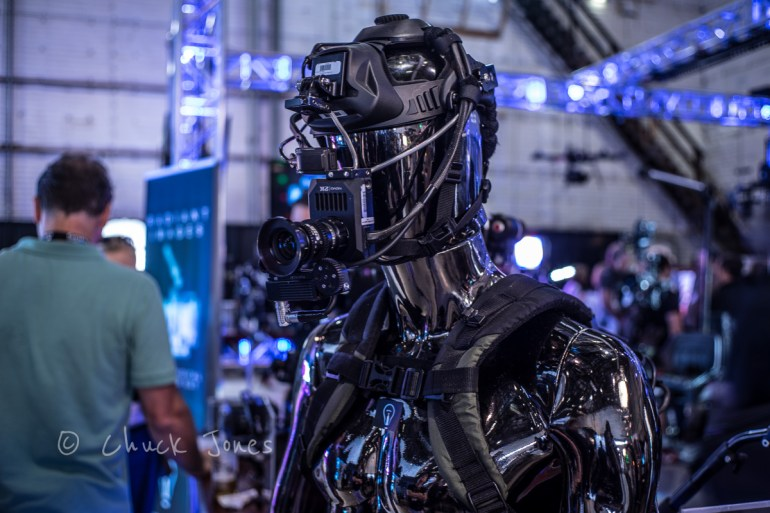 "Darth Vader? Nope.  Darth Videographer!  A Full Self Contained ""Google Glass"" on Steroids."