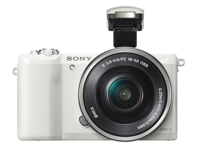 The New Sony a5100 shown in white
