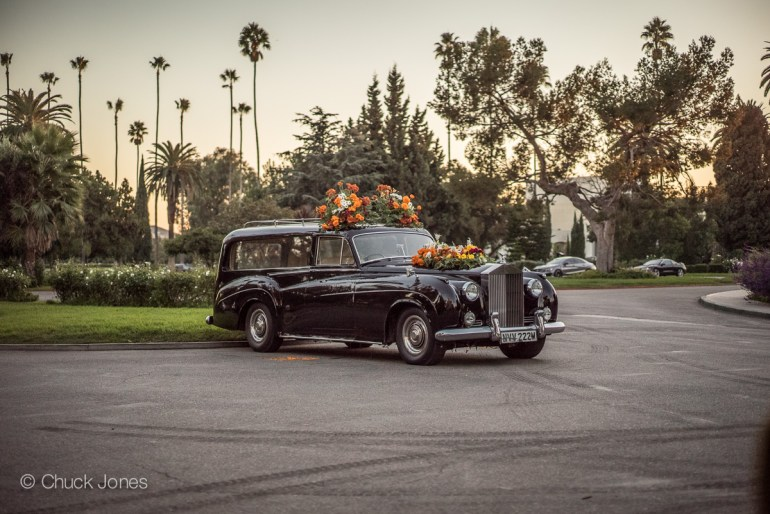 Hollywood Forever Cemetery's Old Rolls Royce Hearse Is Waiting To Take You Away