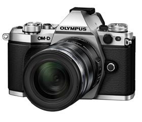 OM-D E-M5 Mark II body (Silver)  + M.ZUIKO DIGITAL ED 12-50mm f3.5-6.3 EZ