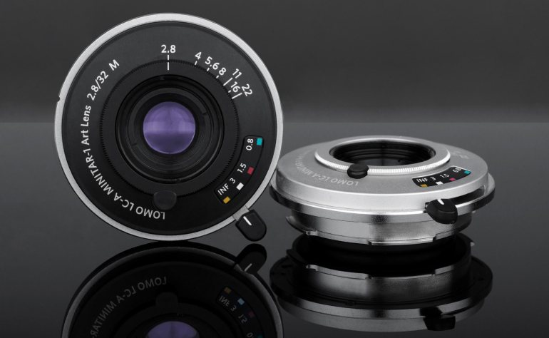 The Lomo Minitar-1 Lens is Available in Black or Silver