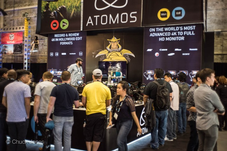 Once Again, The Shogun Was Everywhere In The Atomos Stand.