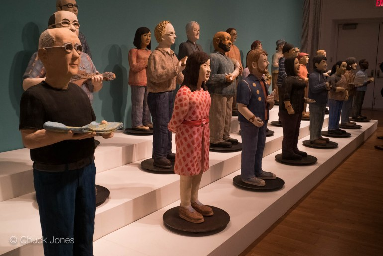 Clay Archivists by Noela Creed