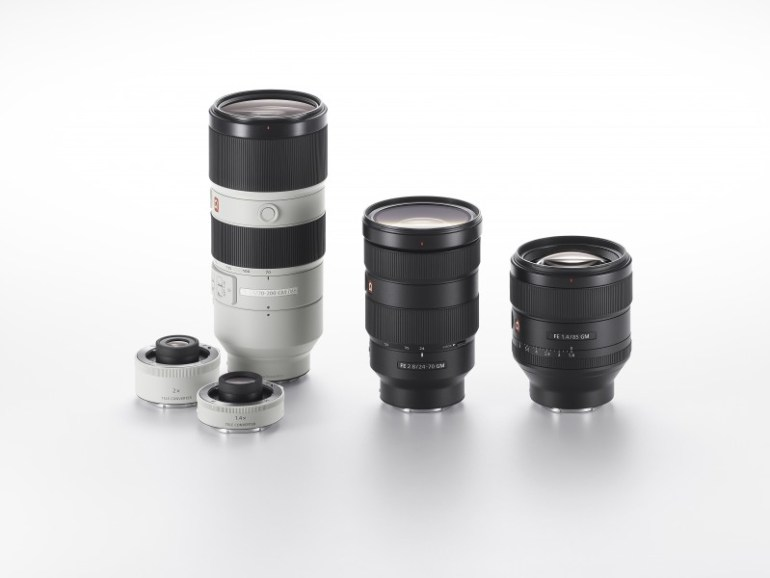 Sony Launches New G Master™ Brand of Interchangeable Lenses Three new models including 24-70mm F2.8 Zoom, 85mm F1.4 Prime and 70-200mm F2.8 Zoom should deliver unrivaled imaging experiences