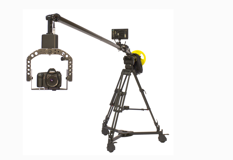 Polecam camera crane for C300, 5D, FS700, Black Magic