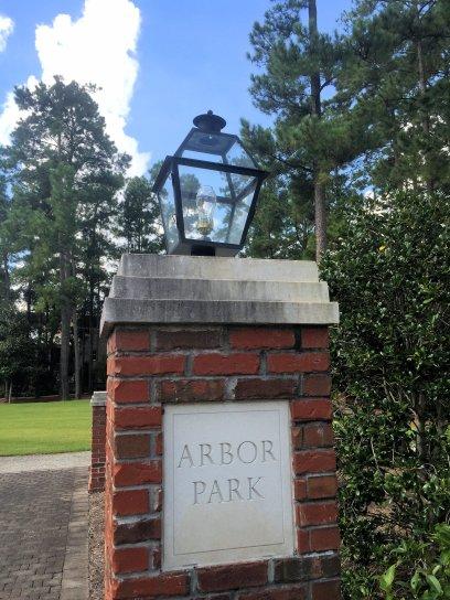 Autumn Hall Arbor Oak entrance