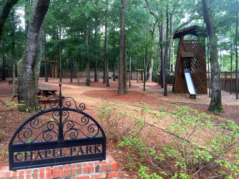Autumn Hall Chapel Park