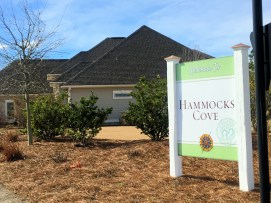 Compass Pointe - Hammocks Cove Sign