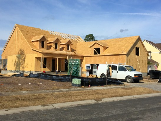 Compass Pointe - Home Under Construction