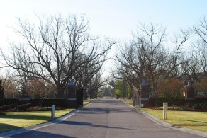 Pecan Grove Plantation Main Gate