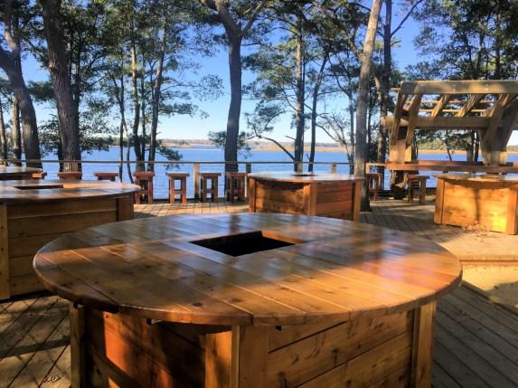 Oyster Tables - Ember Park - RiverLights