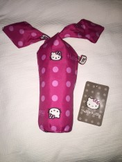My first purchase, a Hello Kitty umbrella