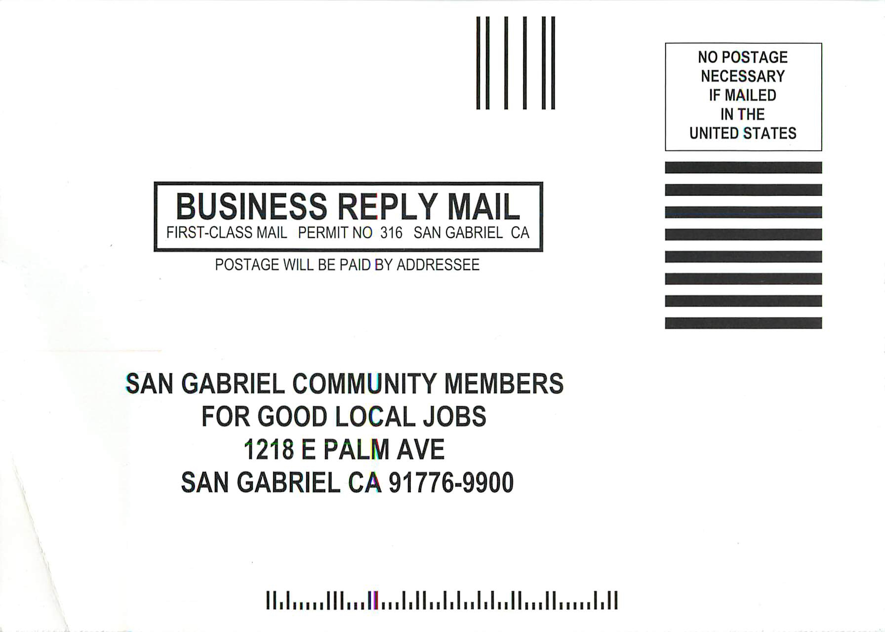 Business Reply Cards Images - Free Business Cards