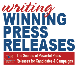 Free Online Training for Writing Political Campaign Press Releases