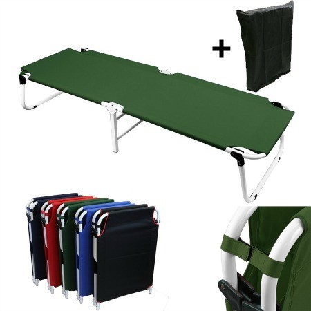 Military fold up camping cot