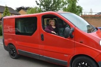 Summer Driver Van