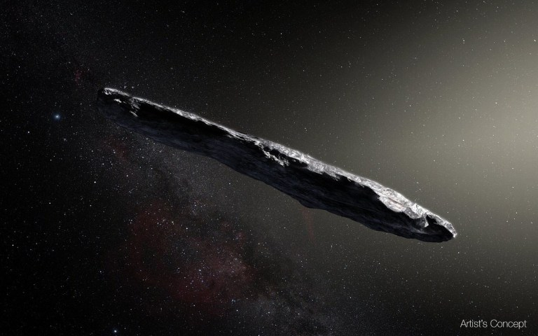 Is Oumuamua an extraterrestrial vessel?