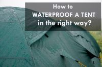 Waterproofing A Tent & Genji Sports Self Expanded Screen ...