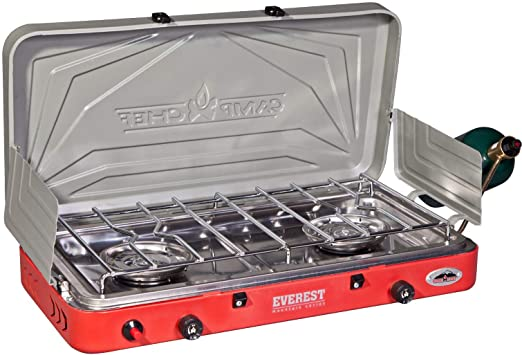 Camp Chef Everest 2 Burner Stove Review, Pros and Cons.