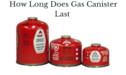 How Long Will 100G, 110G, 220G, 230G or 500G Gas Canister Last