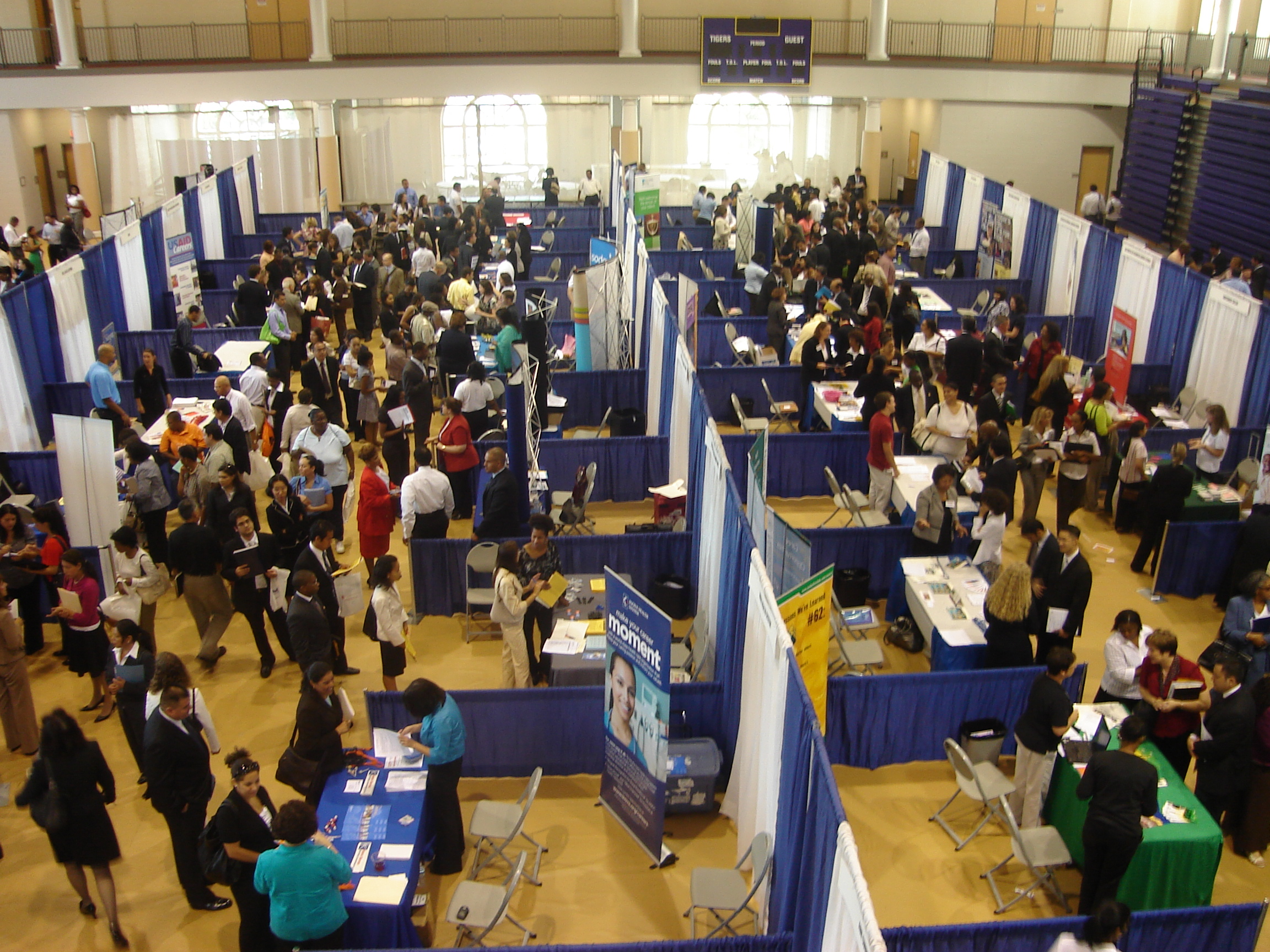 5 Keys To Making The Most Out Of A Career Fair The