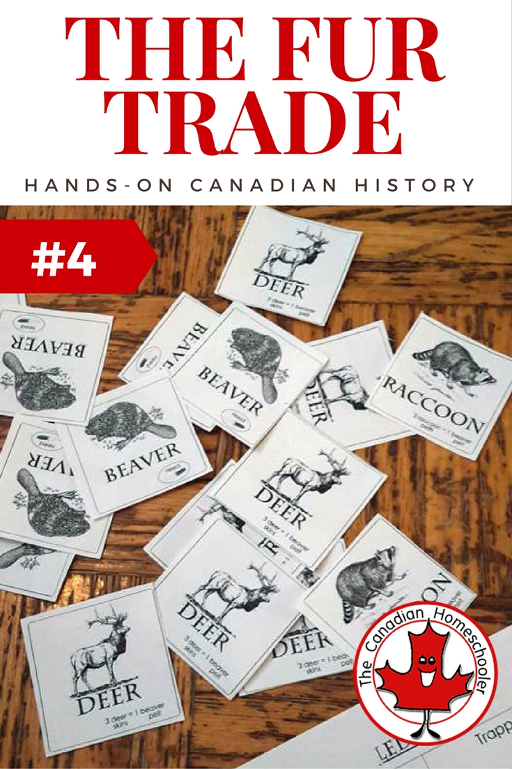 hight resolution of Hands-On Canadian History: The Fur Trade Game