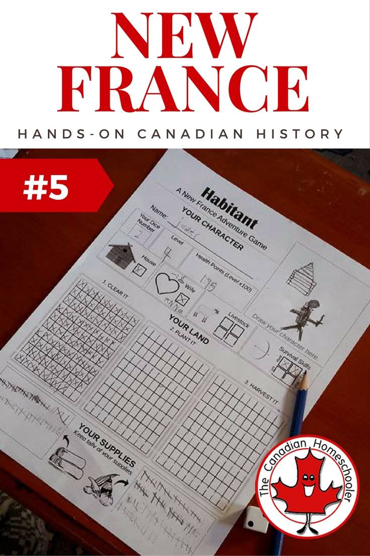 hight resolution of Hands On Canadian History: Habitant - a New France Game