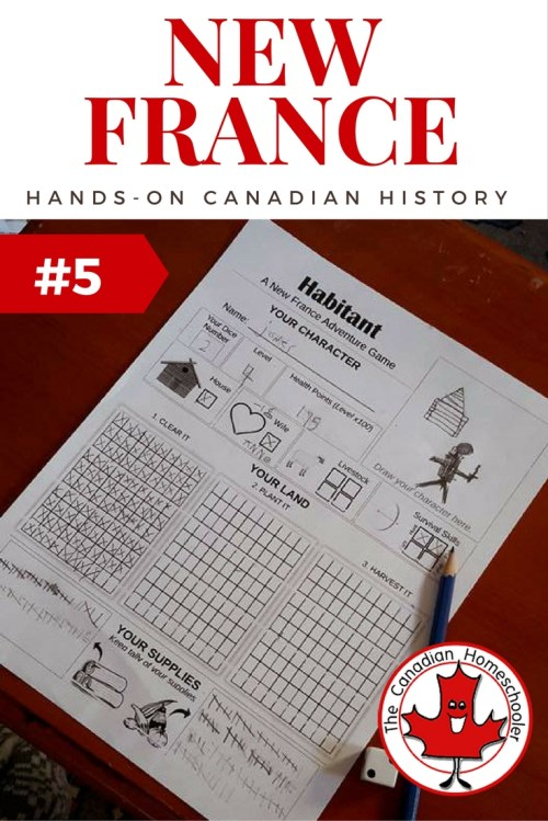 small resolution of Hands On Canadian History: Habitant - a New France Game
