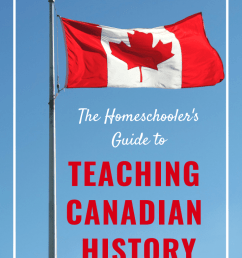 Teaching Canadian History: A Homeschooler's Guide [ 1102 x 735 Pixel ]