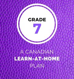 Grade 7 Learn-At-Home Plan – The Canadian Homeschooler [ 1500 x 1000 Pixel ]