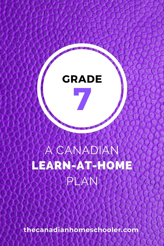 medium resolution of Grade 7 Learn-At-Home Plan – The Canadian Homeschooler