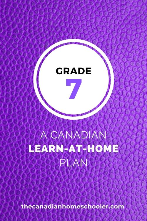 small resolution of Grade 7 Learn-At-Home Plan – The Canadian Homeschooler