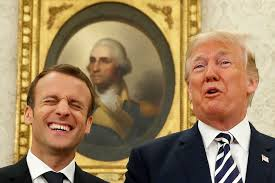 Macron rips nationalism as Trump looks on: 'Patriotism is the exact opposite of nationalism'