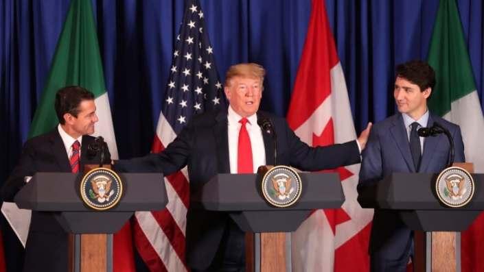 Trudeau, Trump, Pena Nieto sign 'new NAFTA'