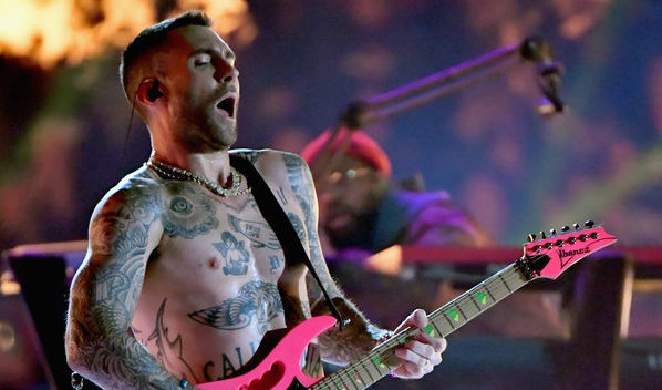 Adam Levine Shows His Nipples At Super Bowl, And Janet Jackson Fans Demand Justice